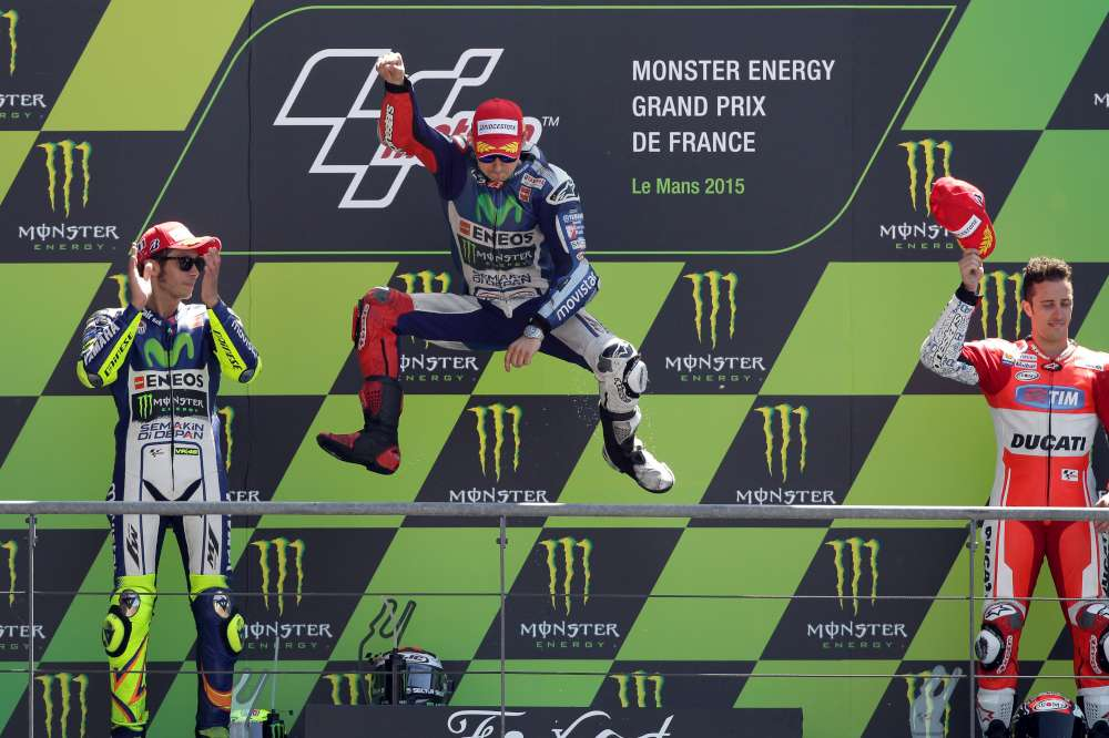 MotoGP, a Le Mans è dominio Lorenzo