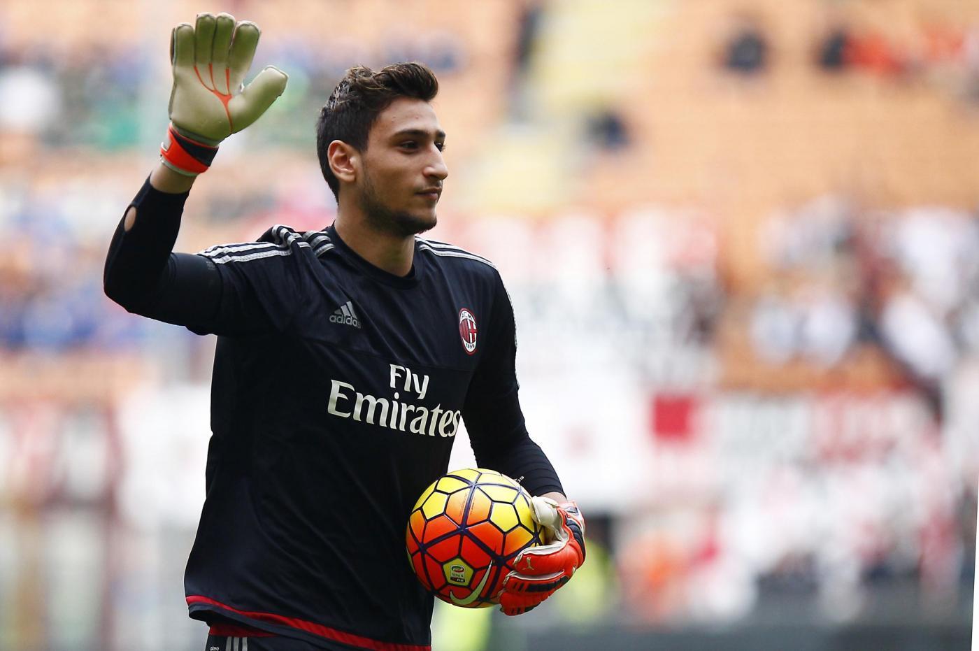 Donnarumma, 100 presenze in A: dal Sassuolo in poi