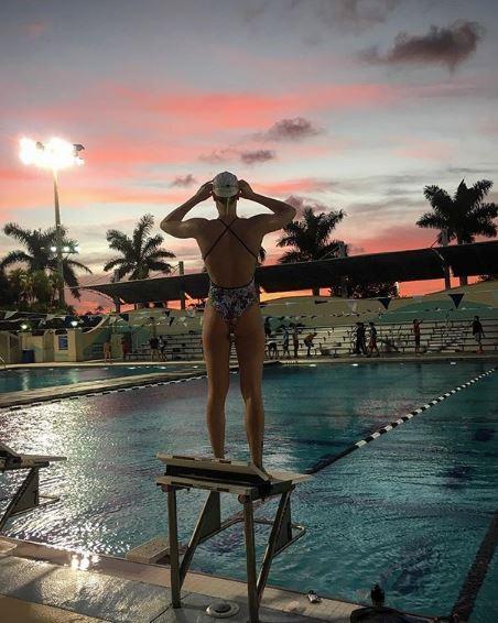 Solo qualche giorno fa Federica Pellegrini aveva pubblicato una foto nel momento di uscire la piscina, esaltando il suo lato B e scatenando i fan: