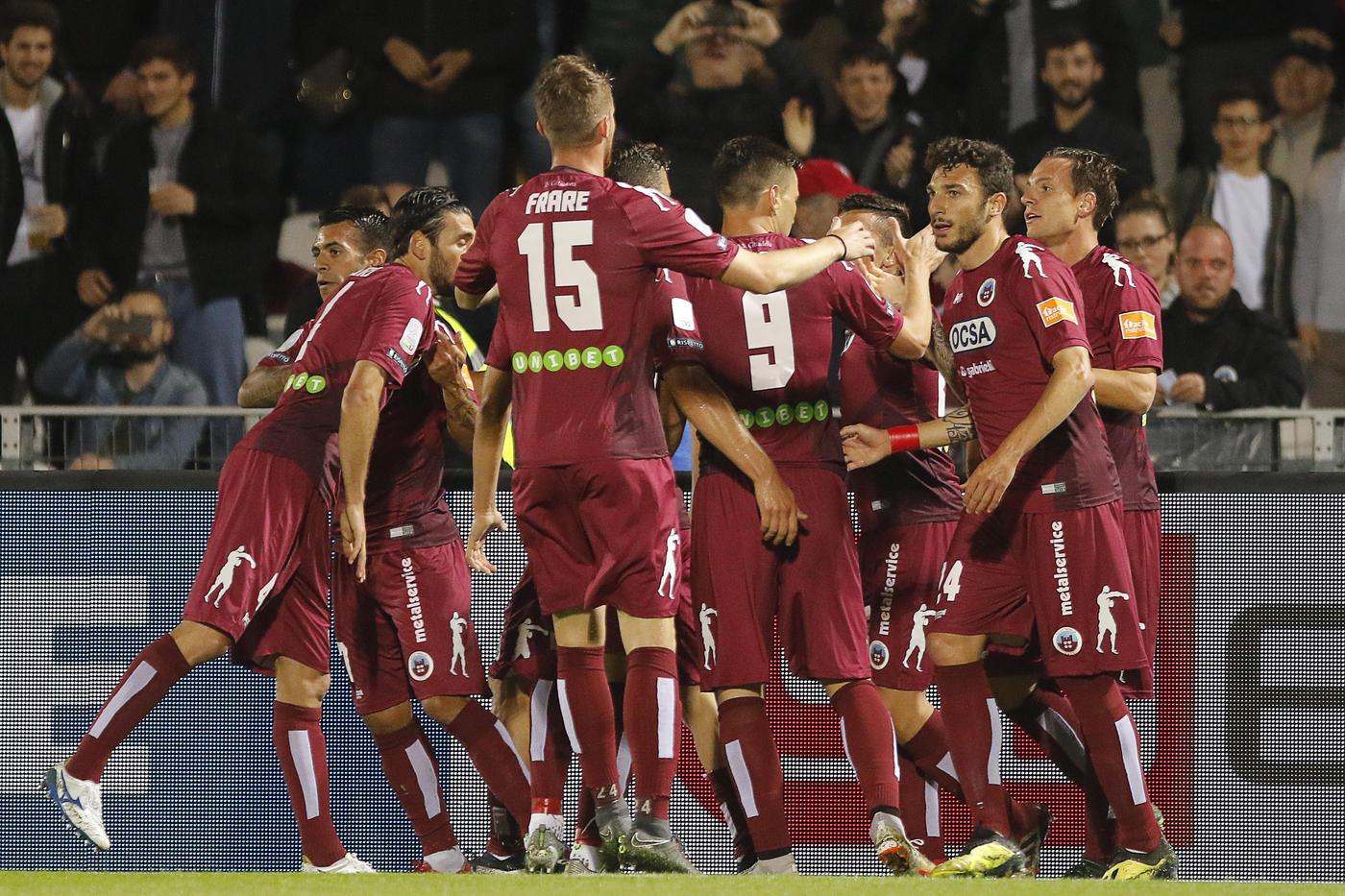 Le immagini della sfida d'andata di playoff tra Cittadella e Benevento