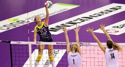 Volley, A1 femminile: colpo Modena, Conegliano primo ko