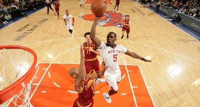 Nba: Anthony non basta, Knicks ko coi Cavs