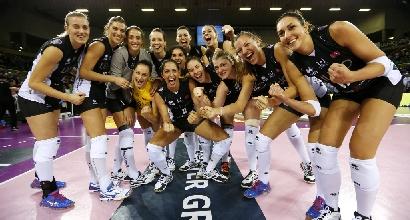 Volley, A1 femminile: Modena perfetta, Piacenza al tappeto