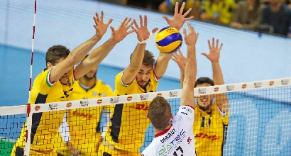 Volley, SuperLega: Modena col fiatone, Molfetta ko al tie-break