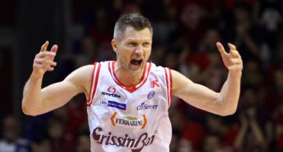 Basket, playoff Serie A: Avellino si arrende, Reggio Emilia sul 3-2