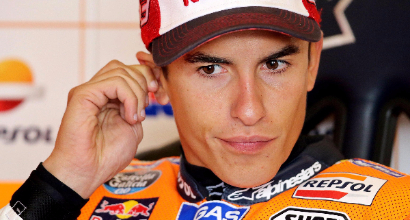 "MotoGP al Sachsenring, Rossi: ""Prima fila fortunata"""