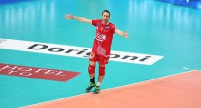 Volley, Superlega: Trento-Civitanova 3-1, sorpasso in vetta