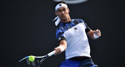 Australian Open: fa festa Paire, Fognini torna a casa