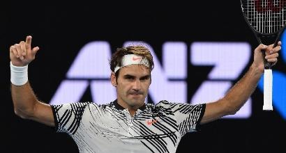 Federer, foto AFP