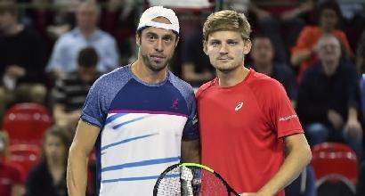 Coppa Davis: Goffin schianta Lorenzi, Belgio in semifinale
