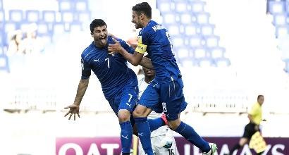 Mondiale U20, Italia-Sudafrica 2-0
