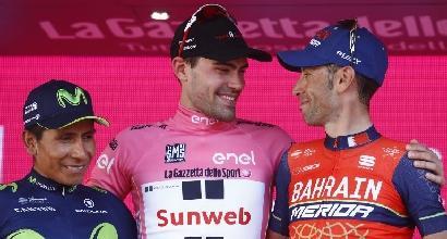 """Giro d'Italia, Nibali: """"Non potevo fare di più"""""""