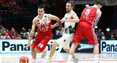 Basket Serie A, finali scudetto: Milano avanti 1-0, Trento ko