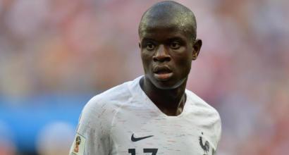 """Nations League, coro virale per Kanté: """"Piccolo e gentile, ma è un imbroglione a carte"""""""