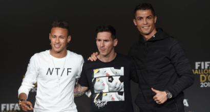 L'undici storico dell'Uefa: che tridente con Messi, Ronaldo e Henry