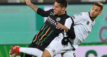 Serie B, lo Spezia frena in casa