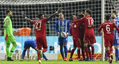 Bundesliga: Coman trascina il Bayern alla vittoria di rimonta
