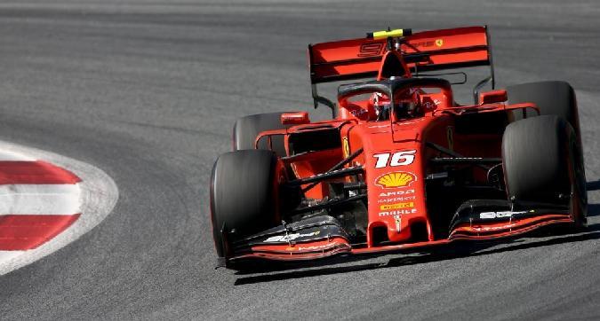 F1, Leclerc vola in Austria