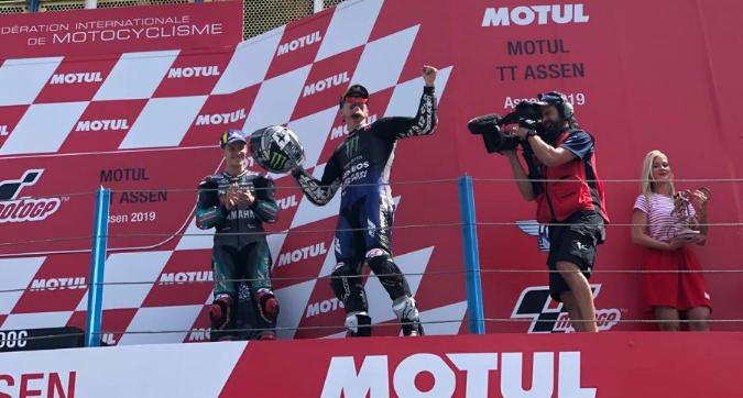 """MotoGP Olanda, Vinales: """"Una liberazione, finalmente!"""""""