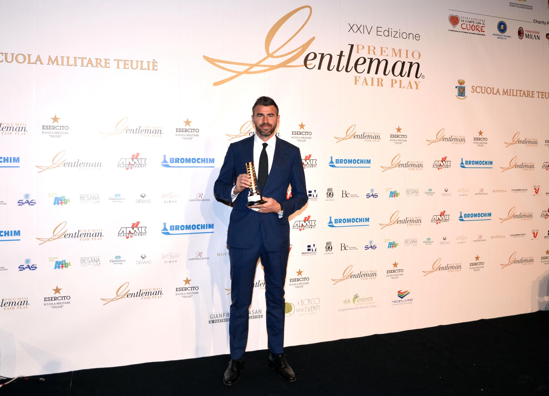 Il Premio Gentleman a Barzagli