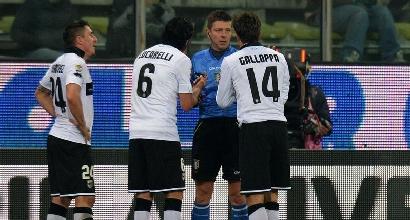 """Parma, Lucarelli contro Ghirardi: """"E' colpa sua, ci ha traditi"""""""