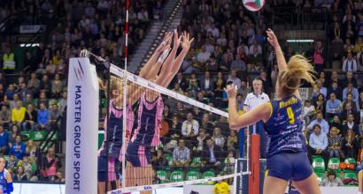 Volley, A1 femminile: colpo Conegliano, sbancata Modena