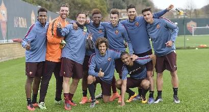 Spalletti-Totti, foto Lapresse