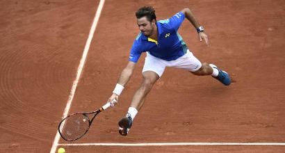 Roland Garros: Fognini eliminato