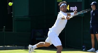 Tennis, Wimbledon: Fognini, Lorenzi e Giorgi ok, Bolelli, Seppi e Schiavone out
