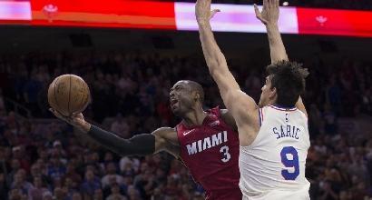 Basket, playoff Nba: Philadelphia si ferma, Golden State alza la voce