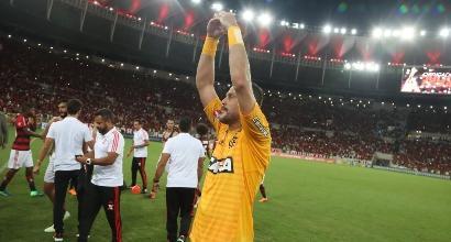 Julio Cesar lascia il calcio in Brasile: l'Inter gli rende omaggio