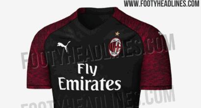 Milan, ecco le anticipazioni sulla terza maglia 2018/2019