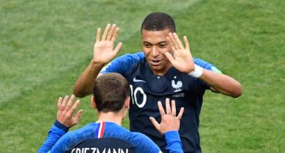 Pallone d'Oro: è sfida a due Griezmann-Mbappé