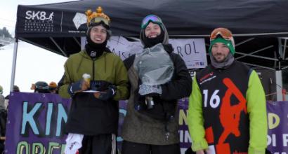 Snowboard, Seehauser si conferma allo Snowpark di Obereggen