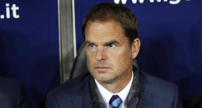 Inter, Frank De Boer attacca: