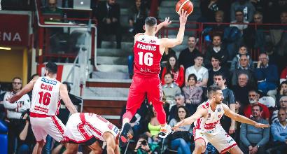 Basket, Serie A: Milano si riscatta e vince il derby con Varese