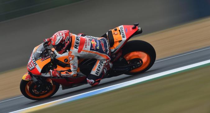 MotoGP, Marquez in pole a Le Mans