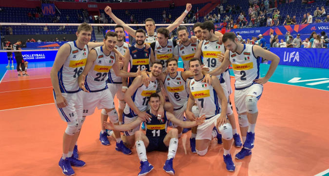 Nations League Volley, Italia facile col Portogallo: 3-0