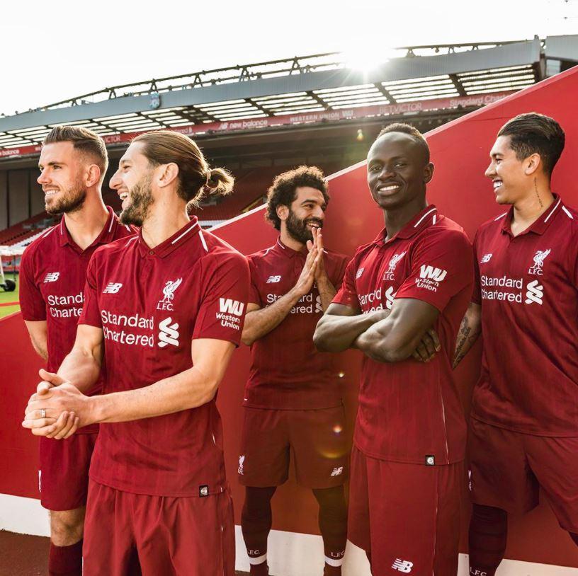 Liverpool, ecco la nuova maglia casalinga