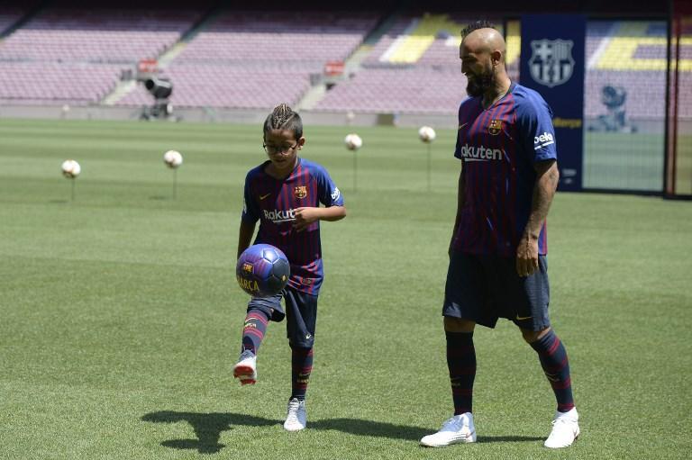 Barcellona: inizia l'avventura di Vidal
