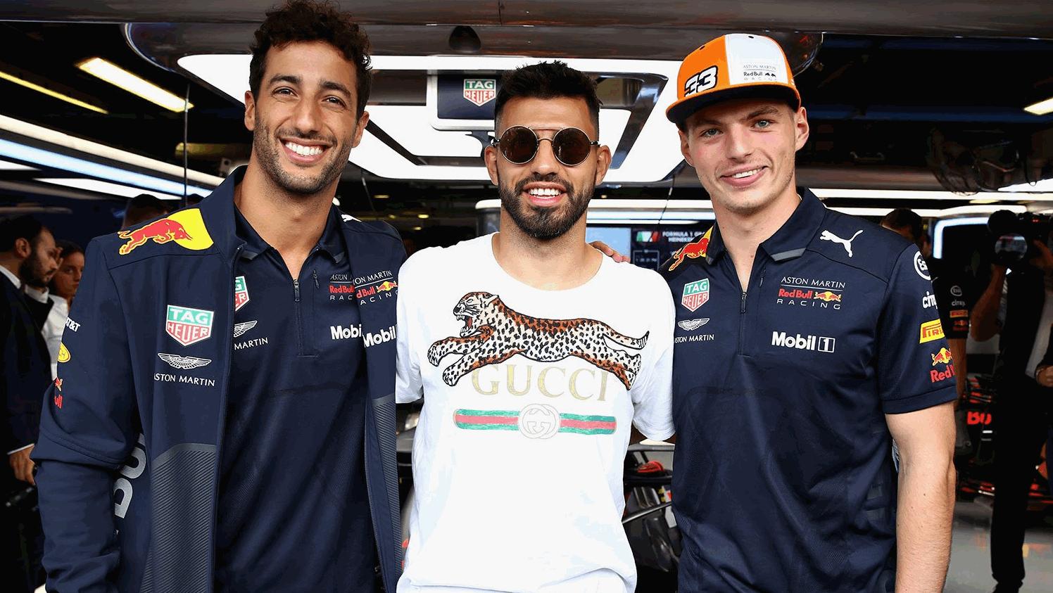 F1, quanti vip a Monza!