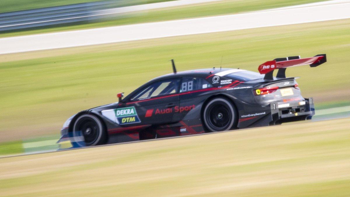 Andrea Dovizioso ha provato l'Audi RS 5 per correre il round di Misano del DTM