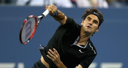 Us Open: Federer ai quarti, cade Dimitrov