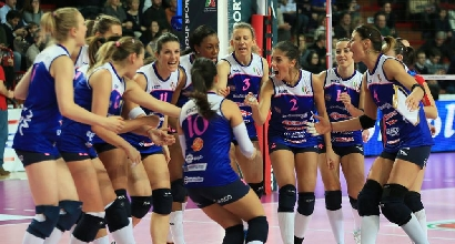 Volley, Champions donne: Busto vince 3-1, Piacenza sconfitta