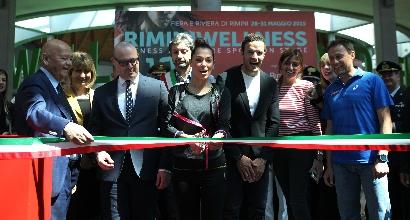 RiminiWellness, Giorgia Surina apre la decima edizione dello show del fitness