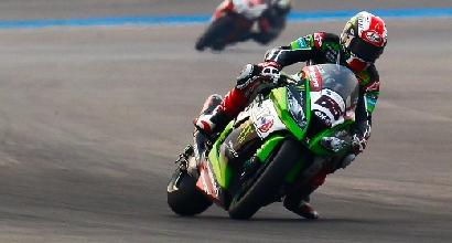 Superbike, Portimao: guizzo di Jonathan Rea nel terzo turno libere