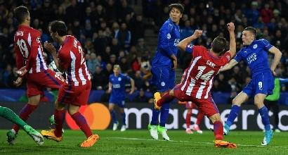 Champions: Atletico in semifinale, finisce la favola del Leicester