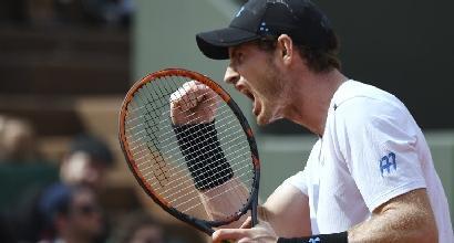 Tennis, Roland Garros: avanti anche Murray e Wawrinka, tutto facile per la Halep