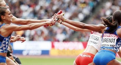 Atletica, Mondiali: la staffetta 4x400 donne manca la finale