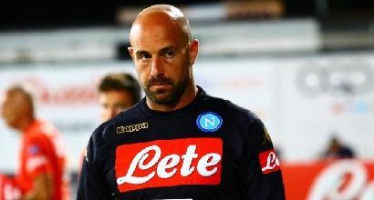 Napoli, l'agente di Reina fa tremare i tifosi